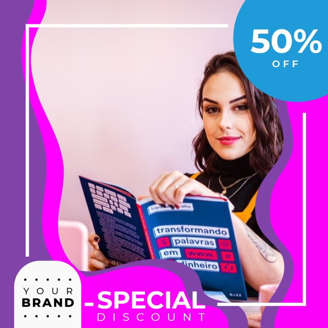 Instagram Post Sale Template - Special