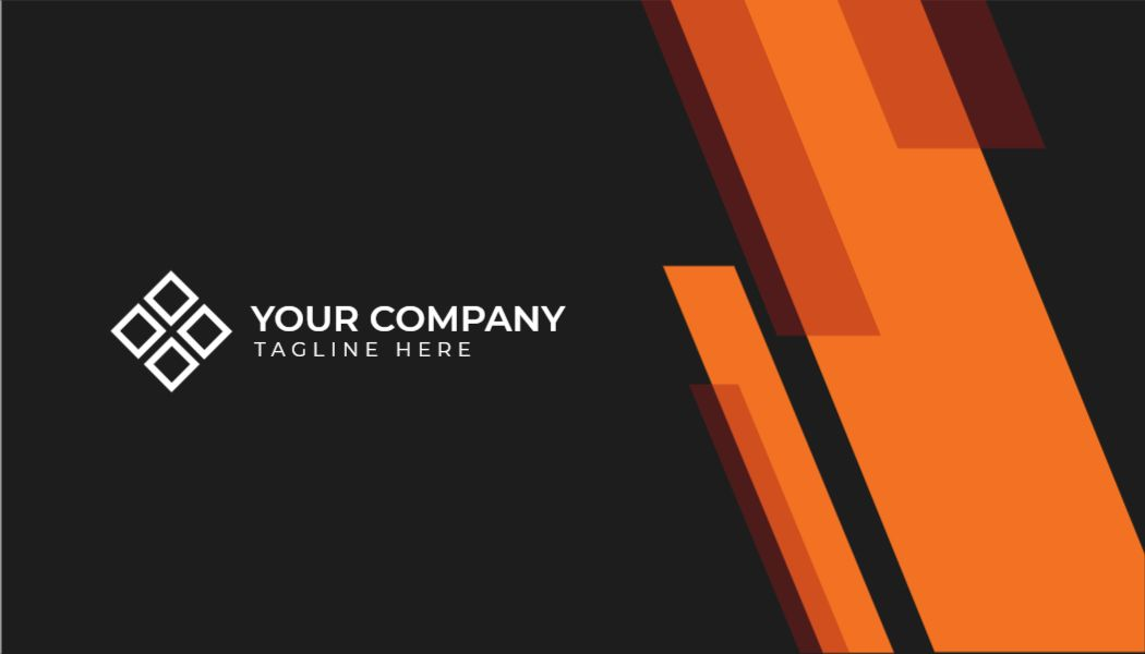Professional Business Card Template - Front Side