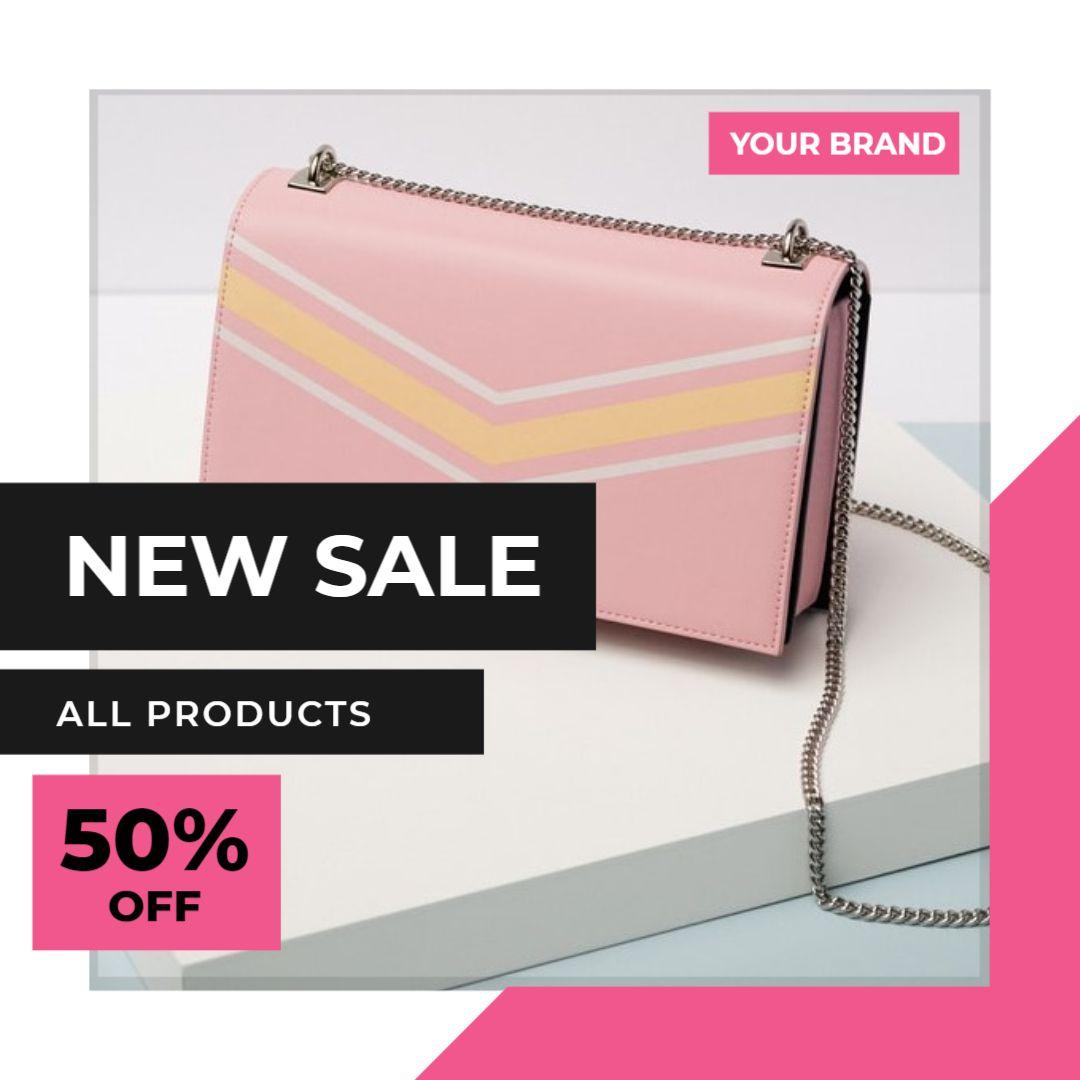 Instagram Post Sale Template - New Sale