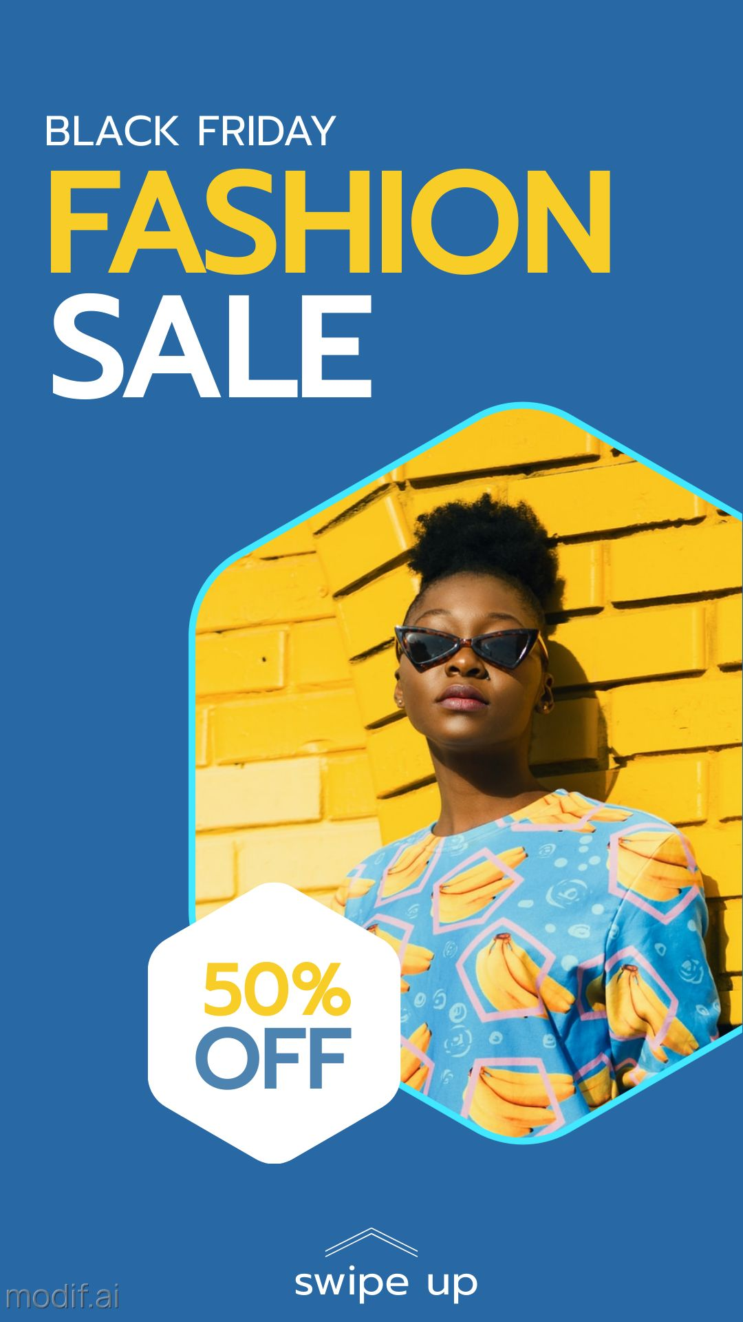 Fashion Sale Black Friday Instagram Story Template