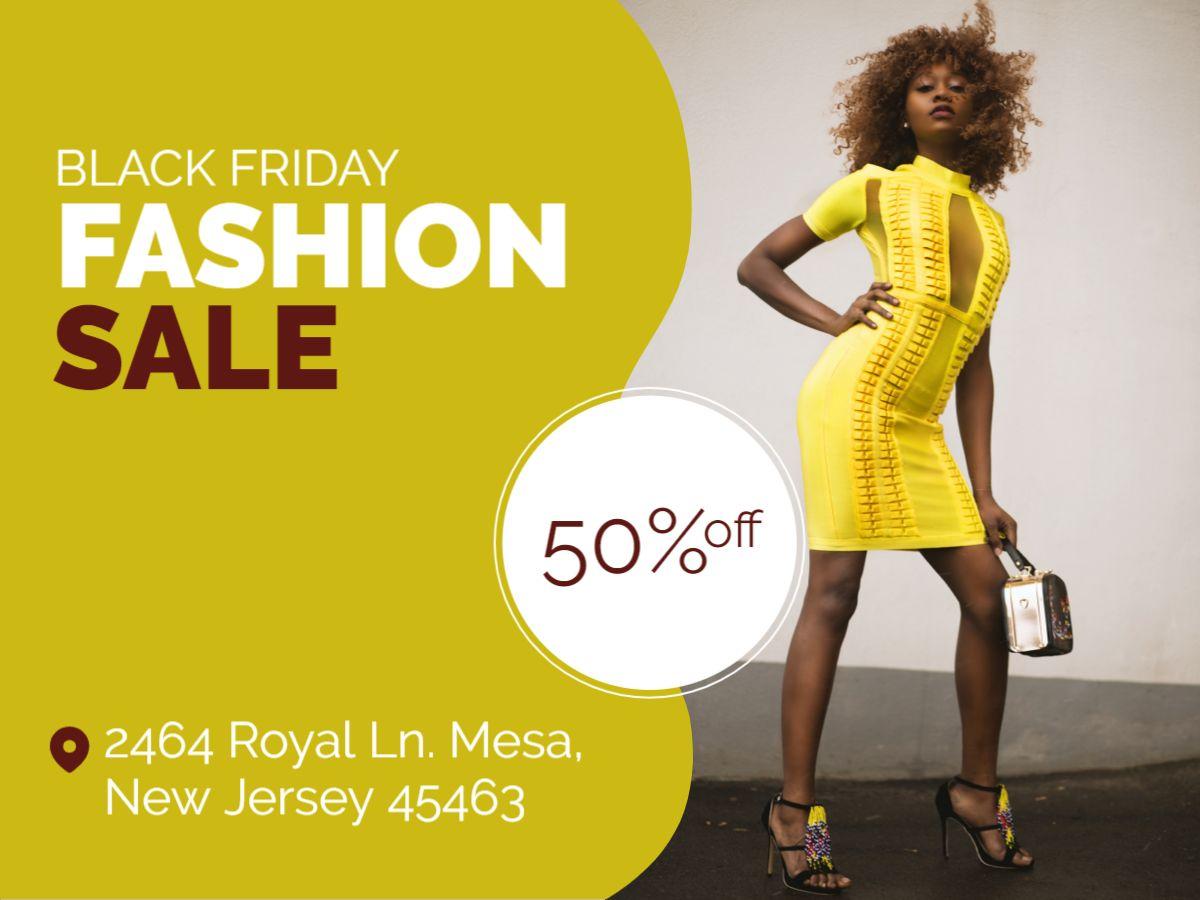 Fashion Sale Facebook Post Template