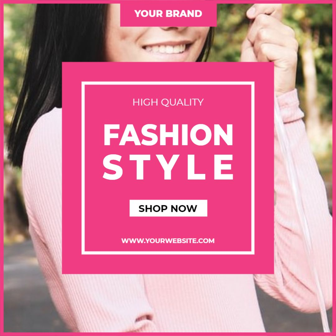Instagram Post Template - Fashion Promotion