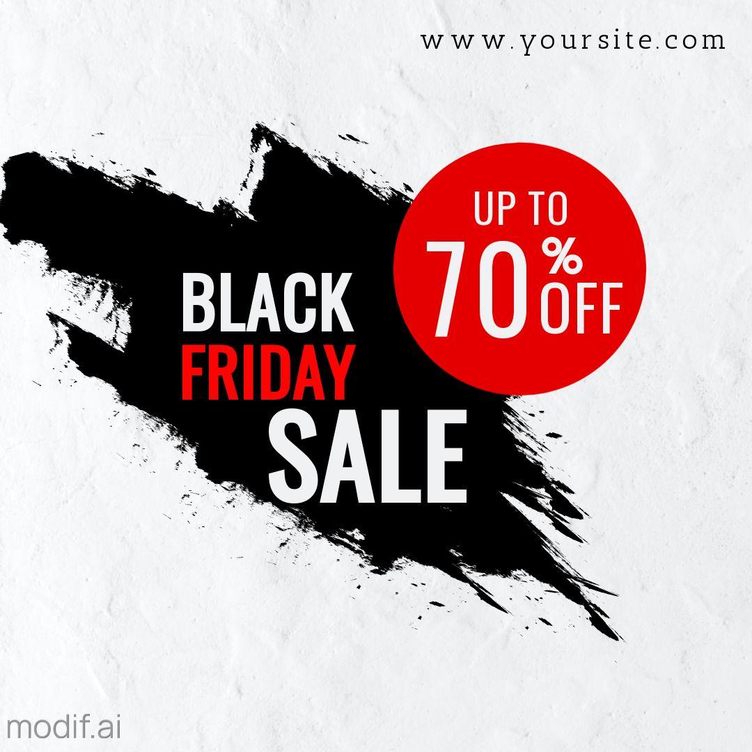 Black Friday Sale Offer Instagram Template