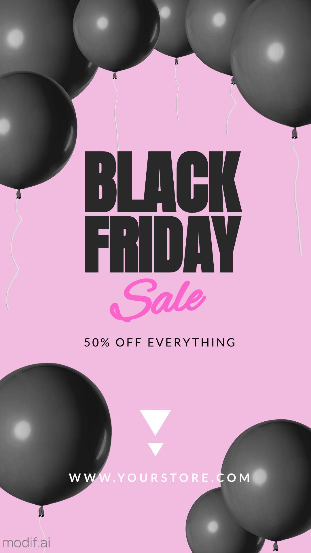 Black Friday Sale Instagram Story Template