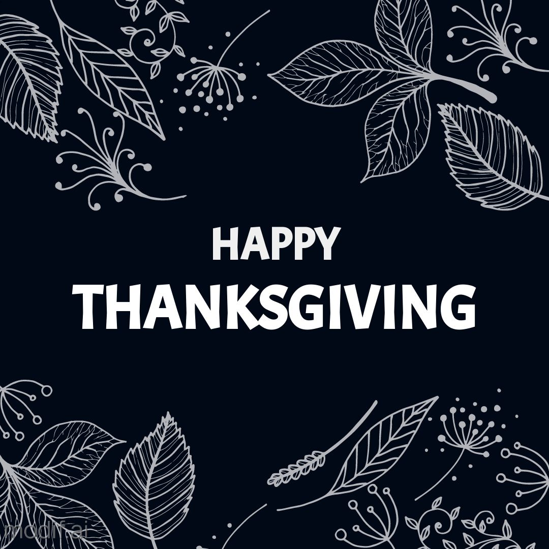 Happy Thanksgiving Instagram Post Template