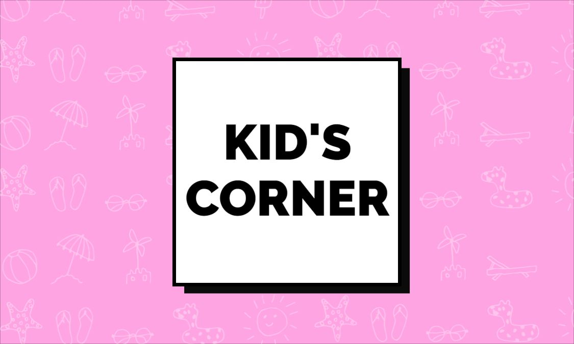 Kid Product Themed Business Card Design Front
