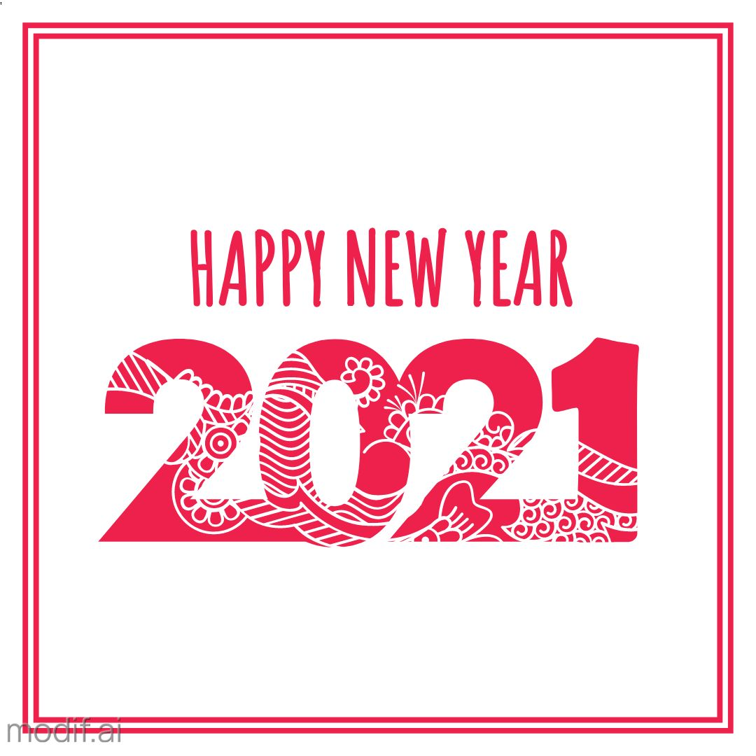 New Year Themed Instagram Greetings Template