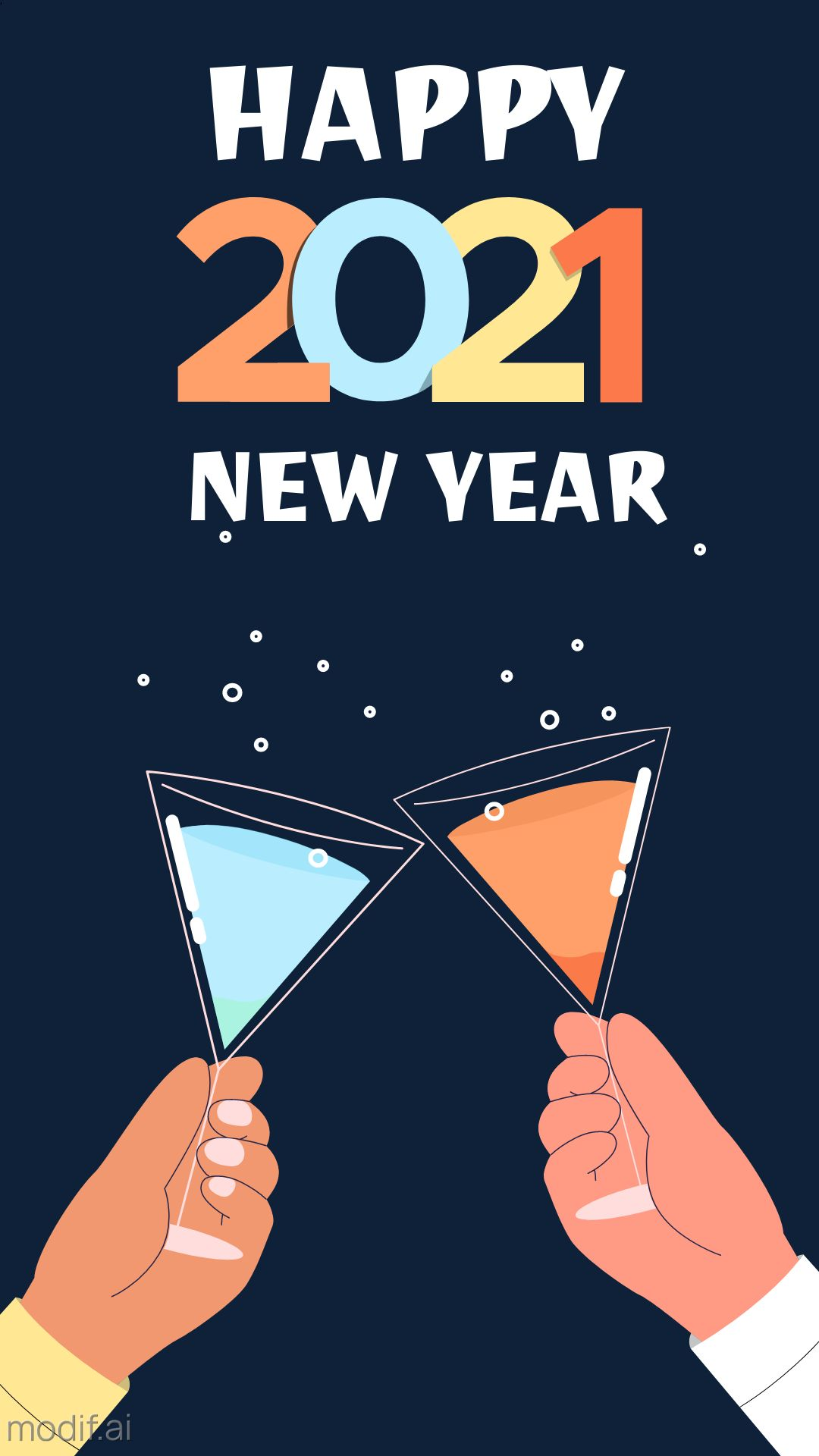 New Year Instagram Story Design