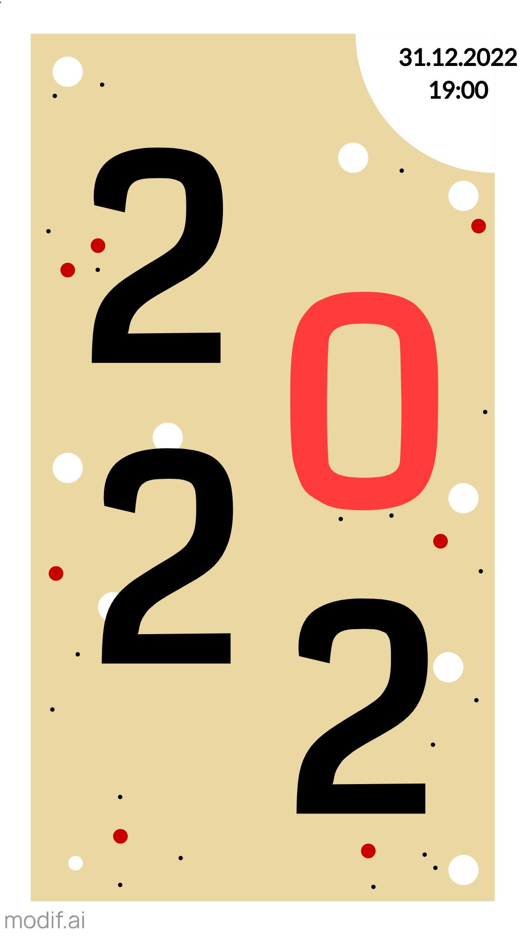 Instagram 2021 Story New Year Party Template