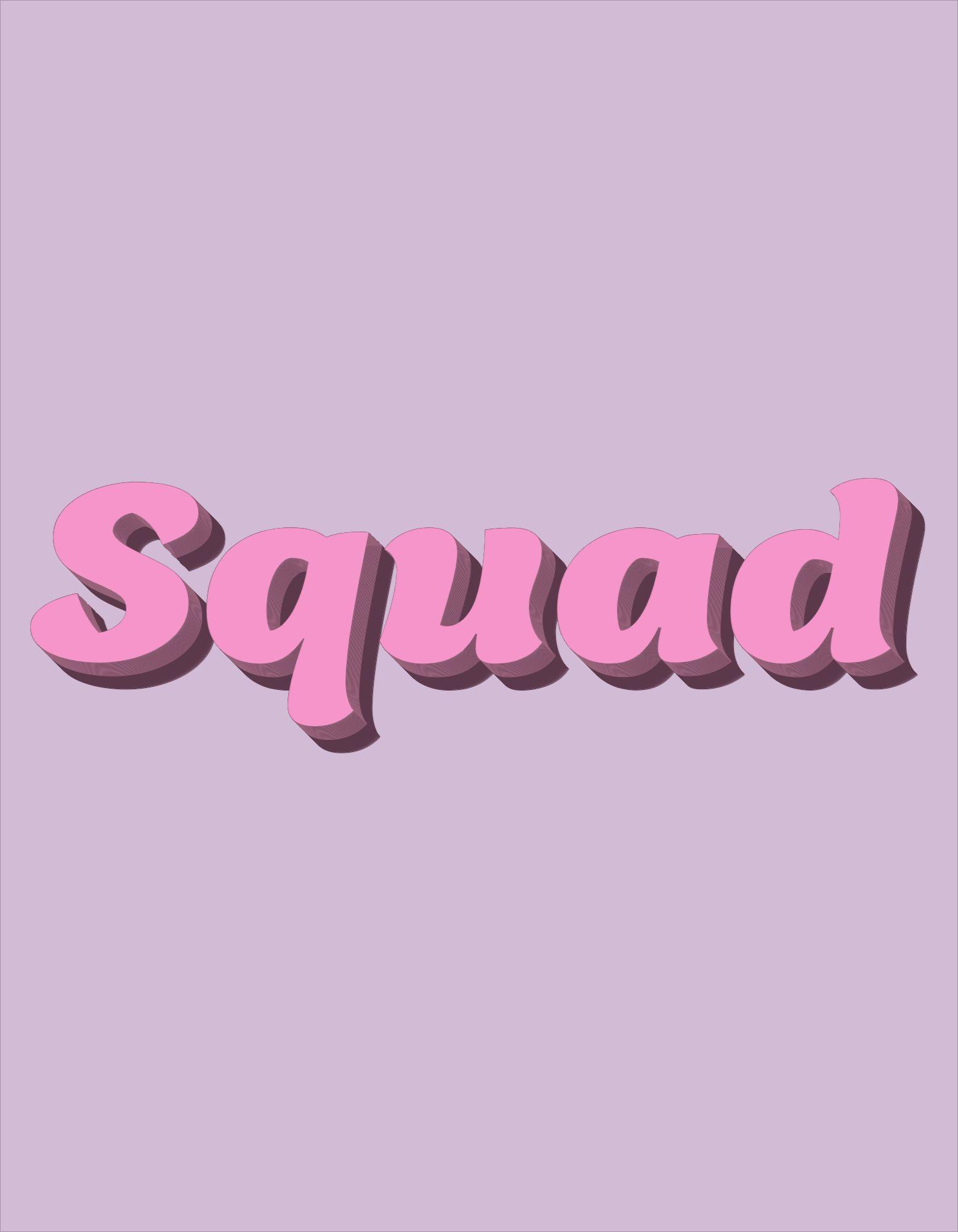Bachelorette Squad T-Shirt Design Template