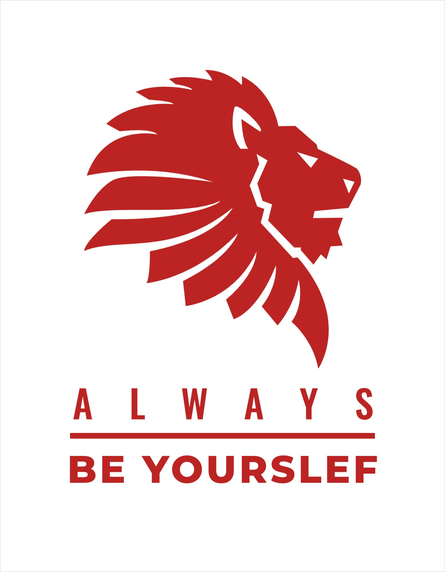 Be Yourself T-Shirt Design Template