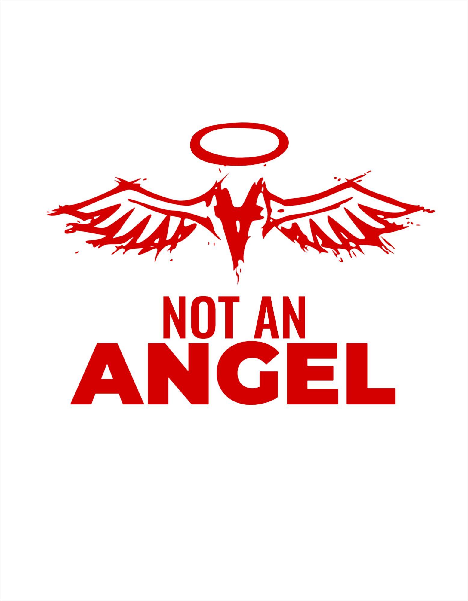 Angel Themed T-Shirt Design Template