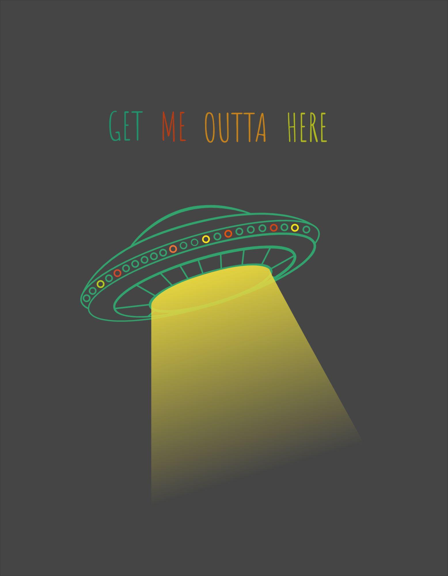 UFO T-Shirt Design Templates