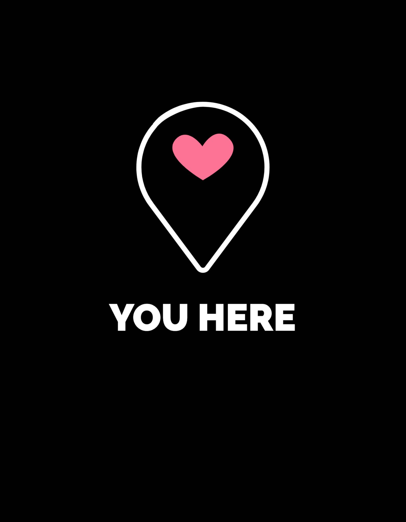 Love Location T-shirt Design Template