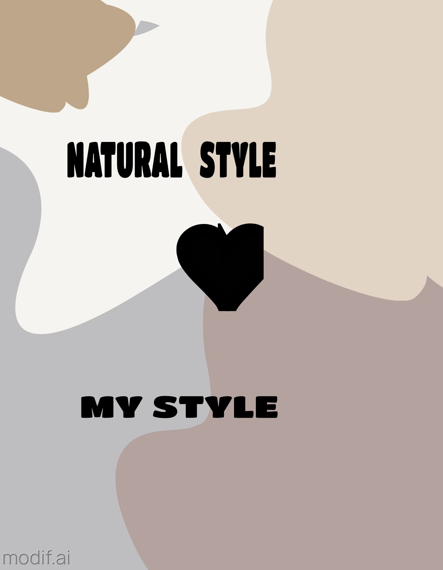T-Shirt Natural Design