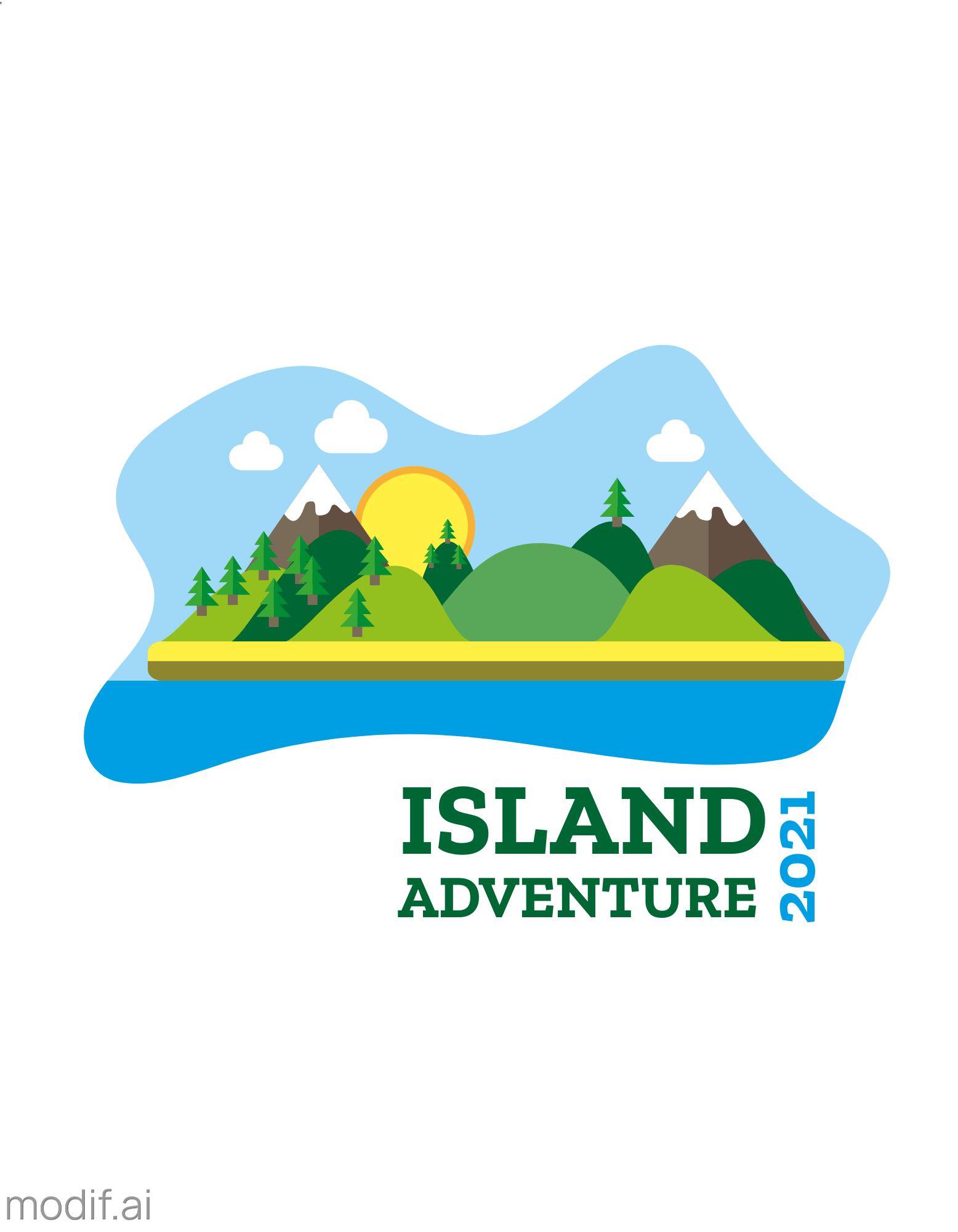 Adventure Themed T-Shirt Design Template