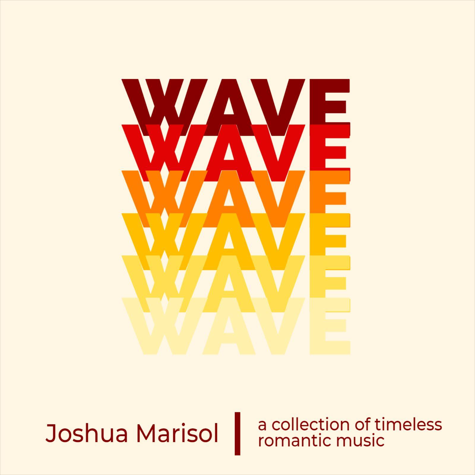 Wave Design Album Cover Template