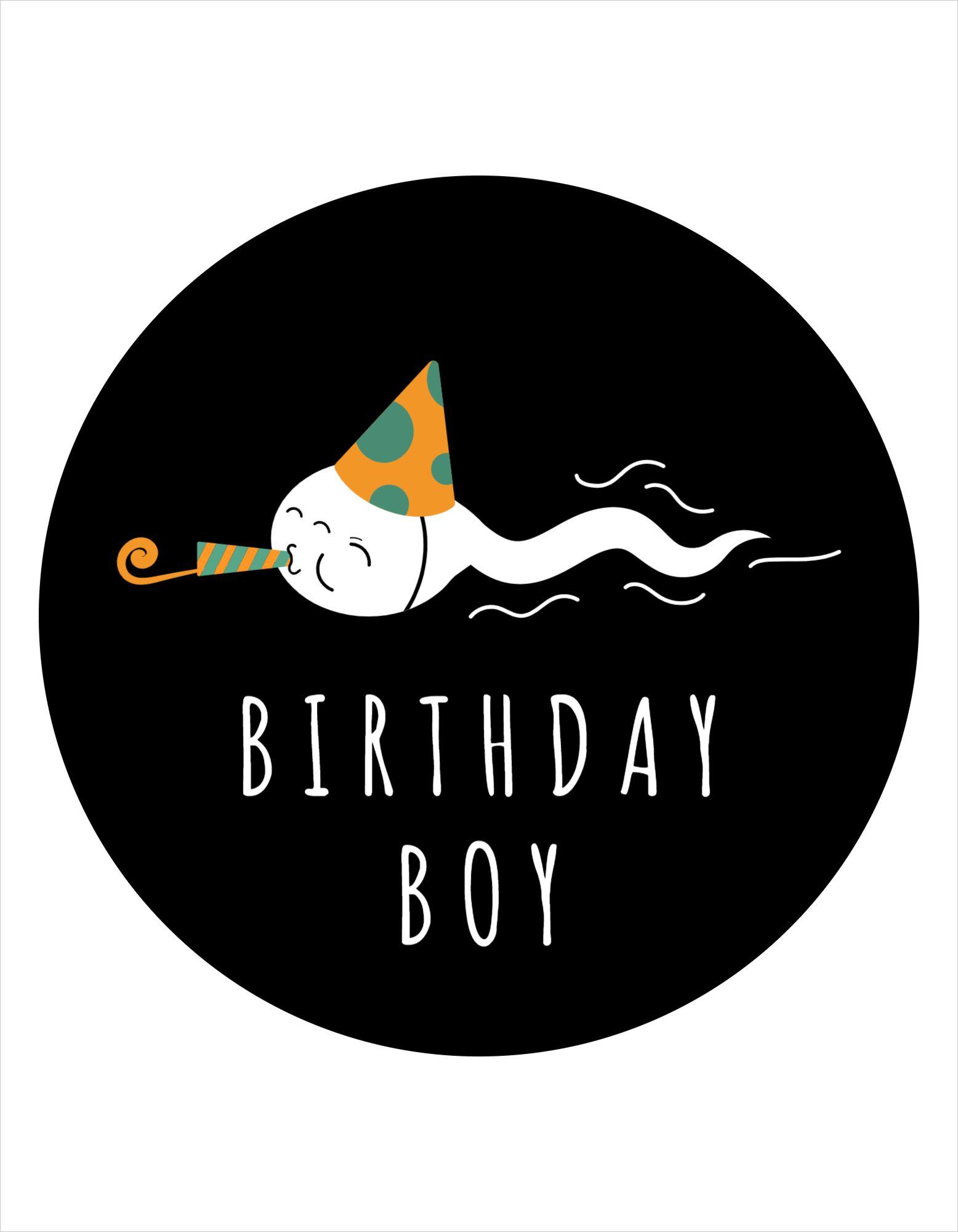 Birthday Boy T-Shirt Design Template