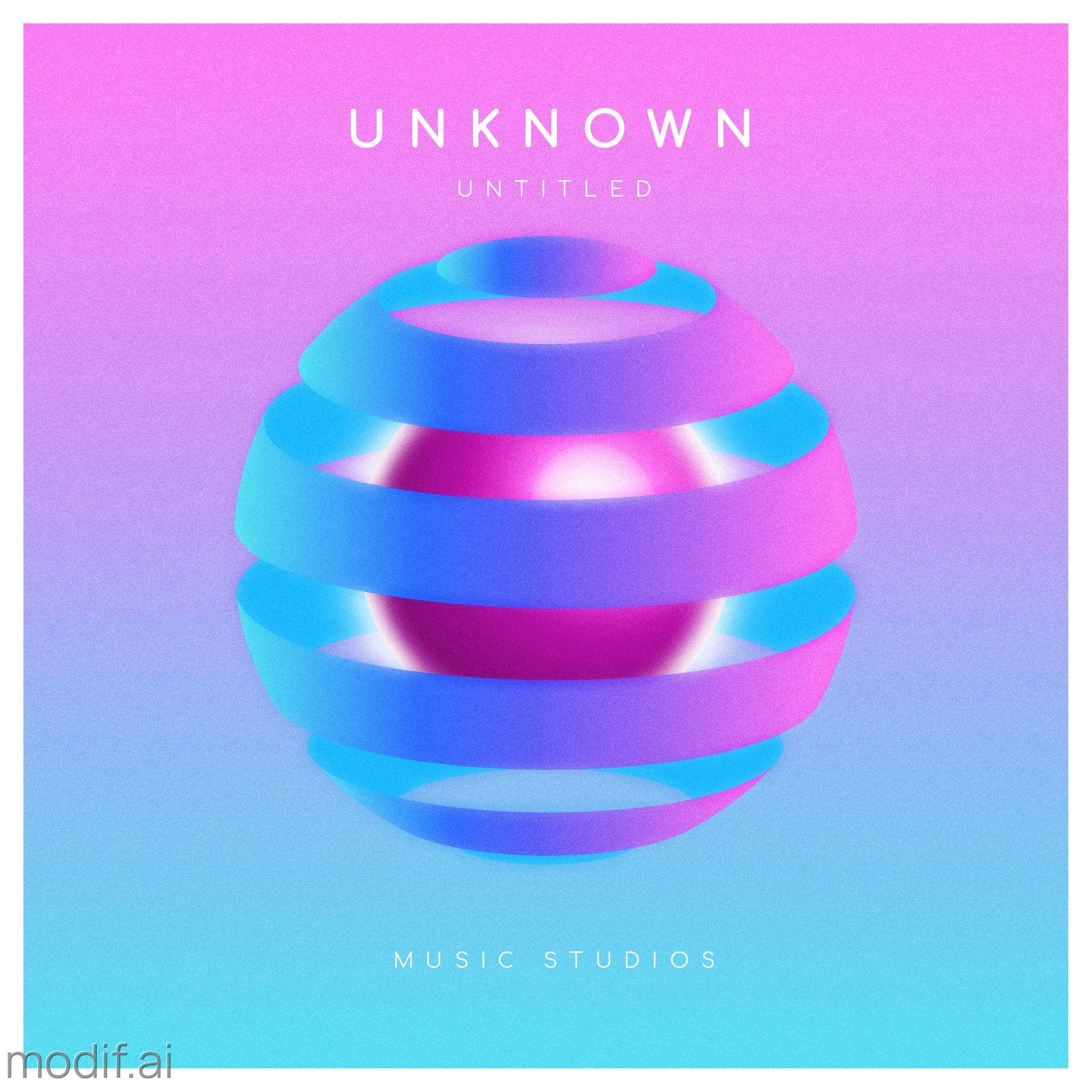 Futuristic Sphere Digital Album Cover Template