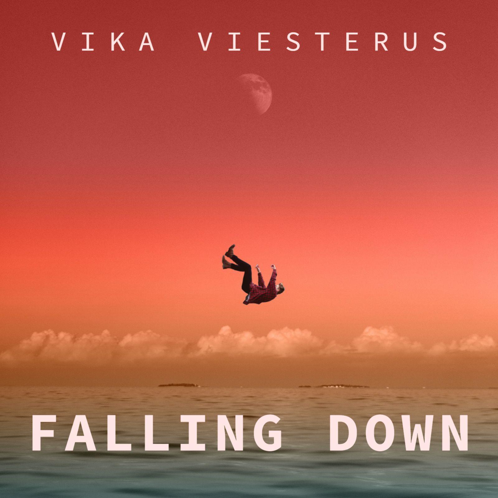 Falling Down Album Cover Template