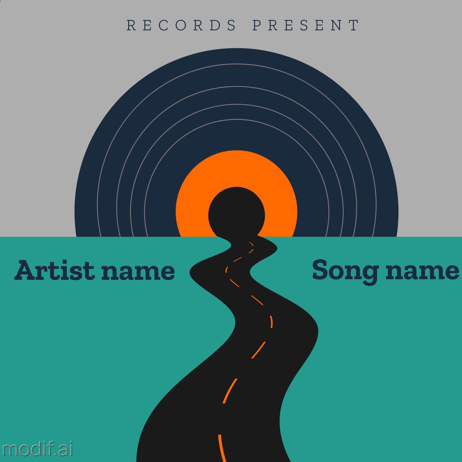 Vinyl Record Album Design Template