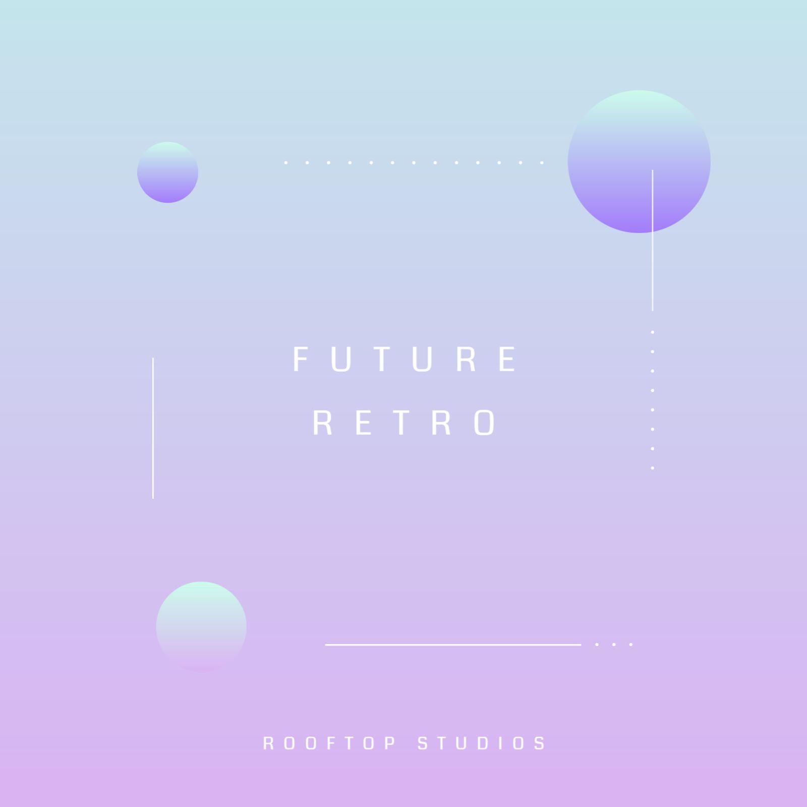 Minimalist Retro Digital Album Cover Template