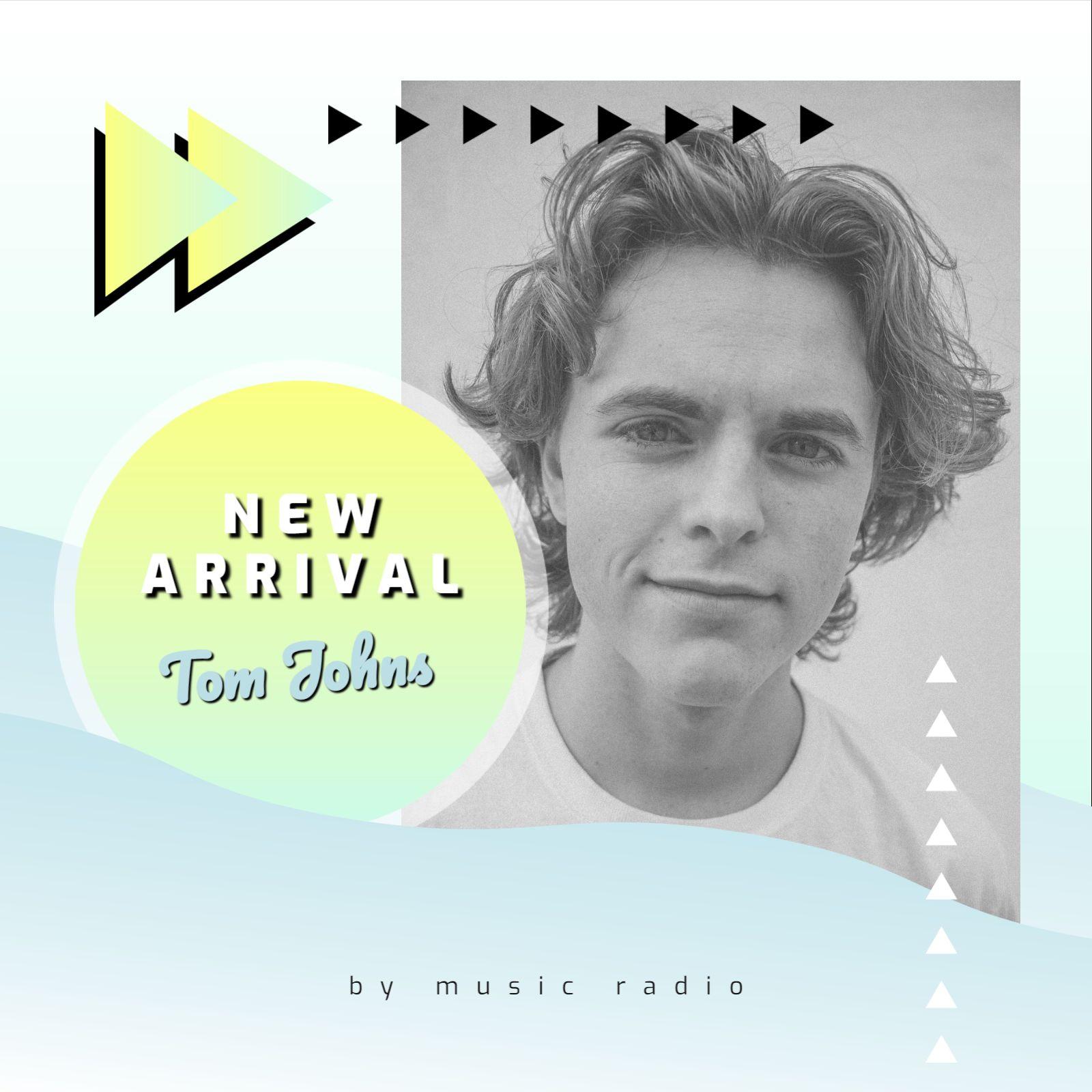 New Arrival Digital Album Cover Template