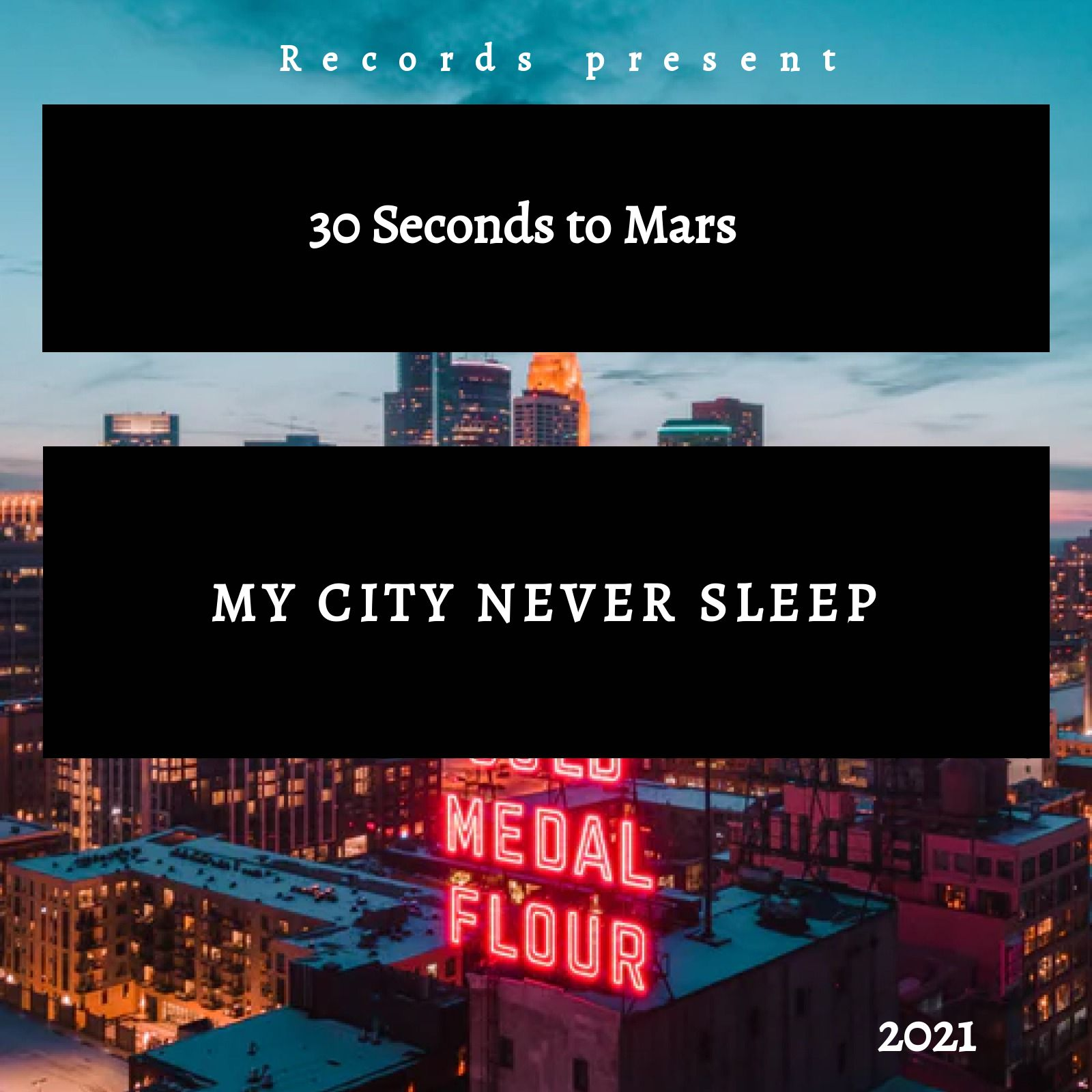 City Music Album Template