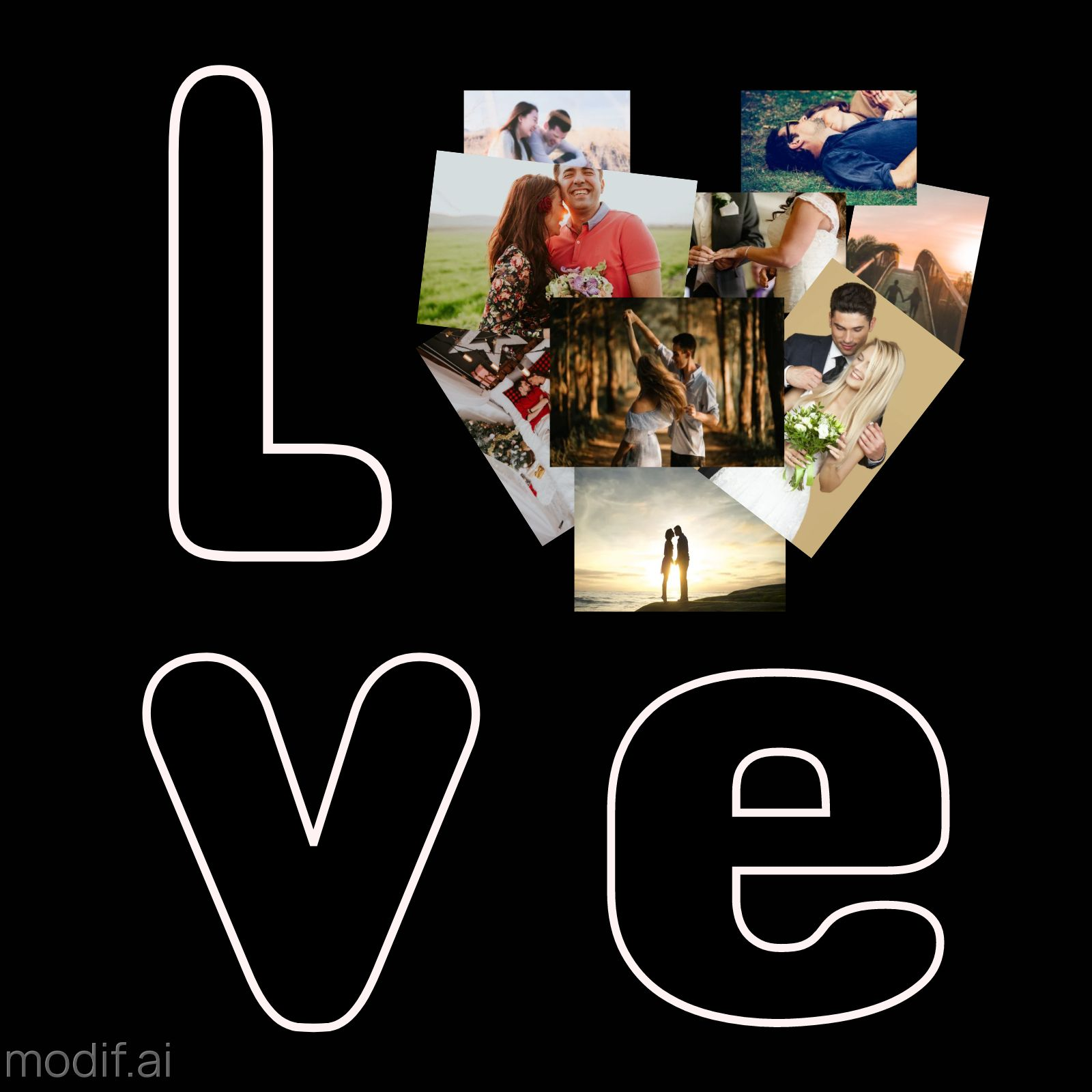 Photo Love Greeting Cards