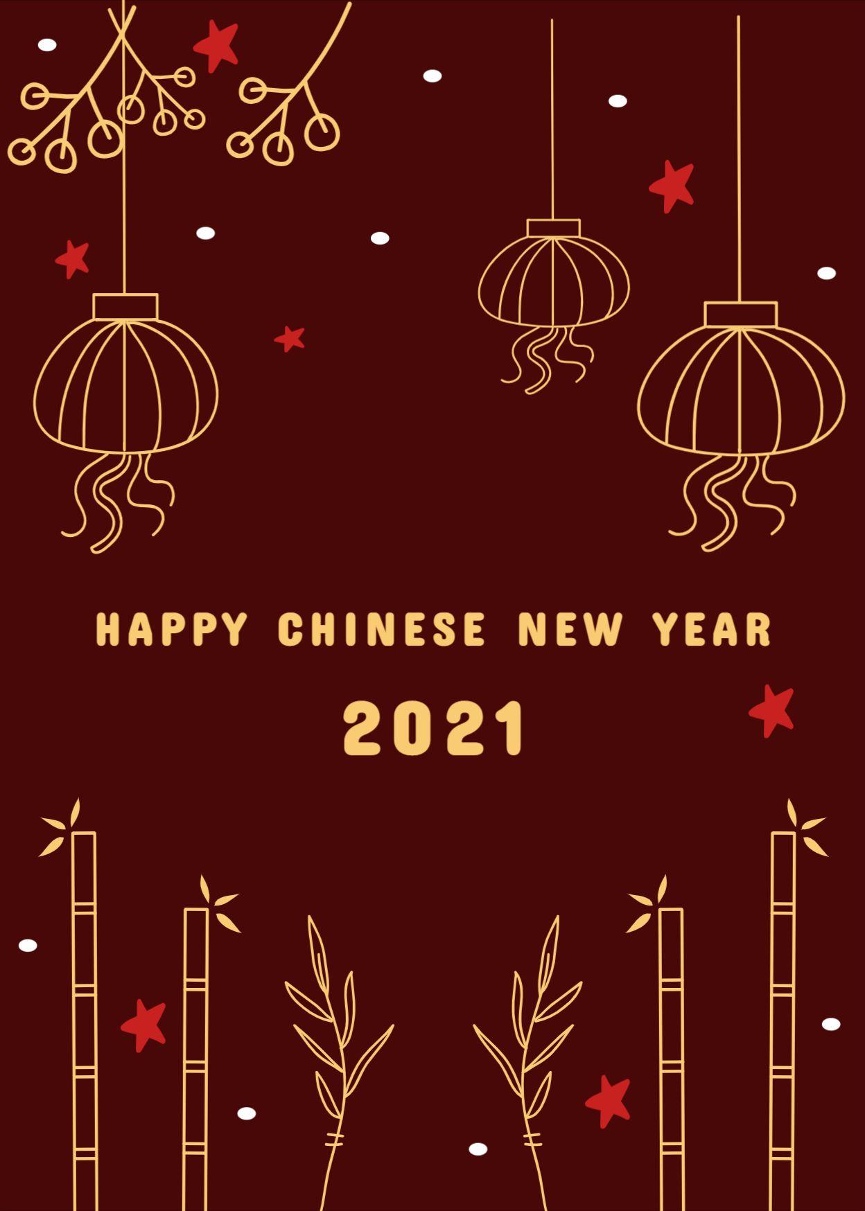 Сhinese New Year Greeting Card