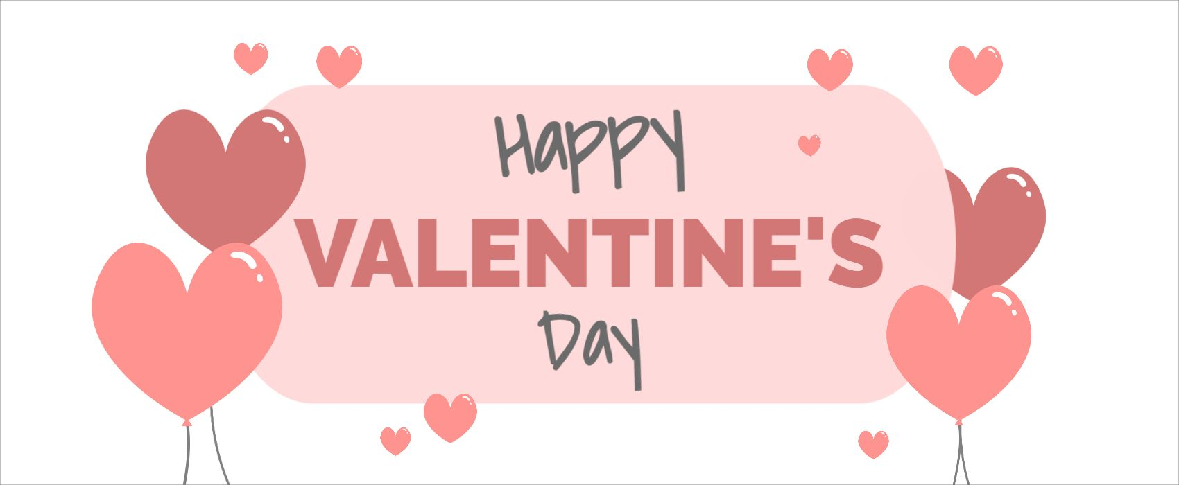 Valentines Facebook Cover Template