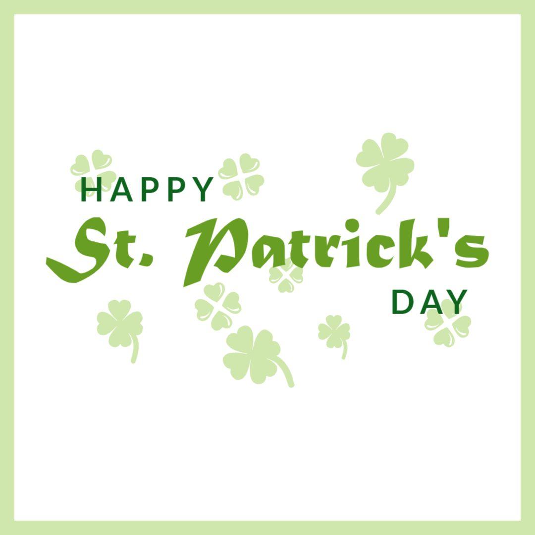 St. Patricks Day Greetings Instagram Template