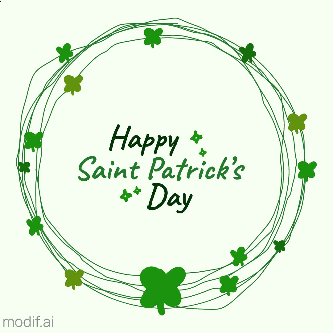 Social Media St Patricks Day Post