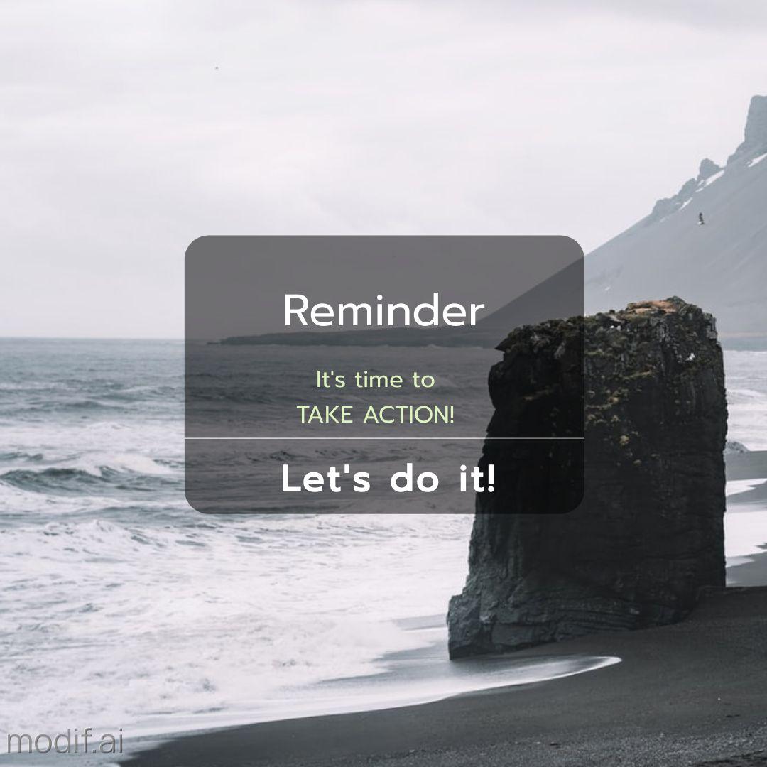 Motivational Video Instagram Post Notification