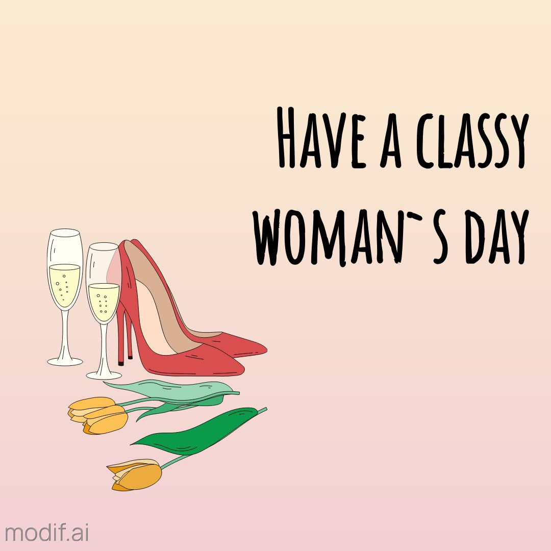 Classy Womans Day Instagram Post Template