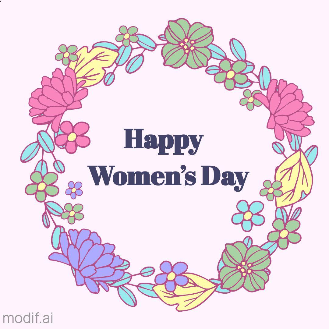 Summer Wreath Womens Day