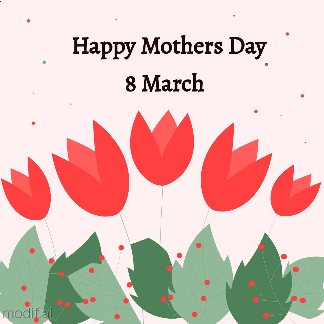Happy Mothers Day Design Template