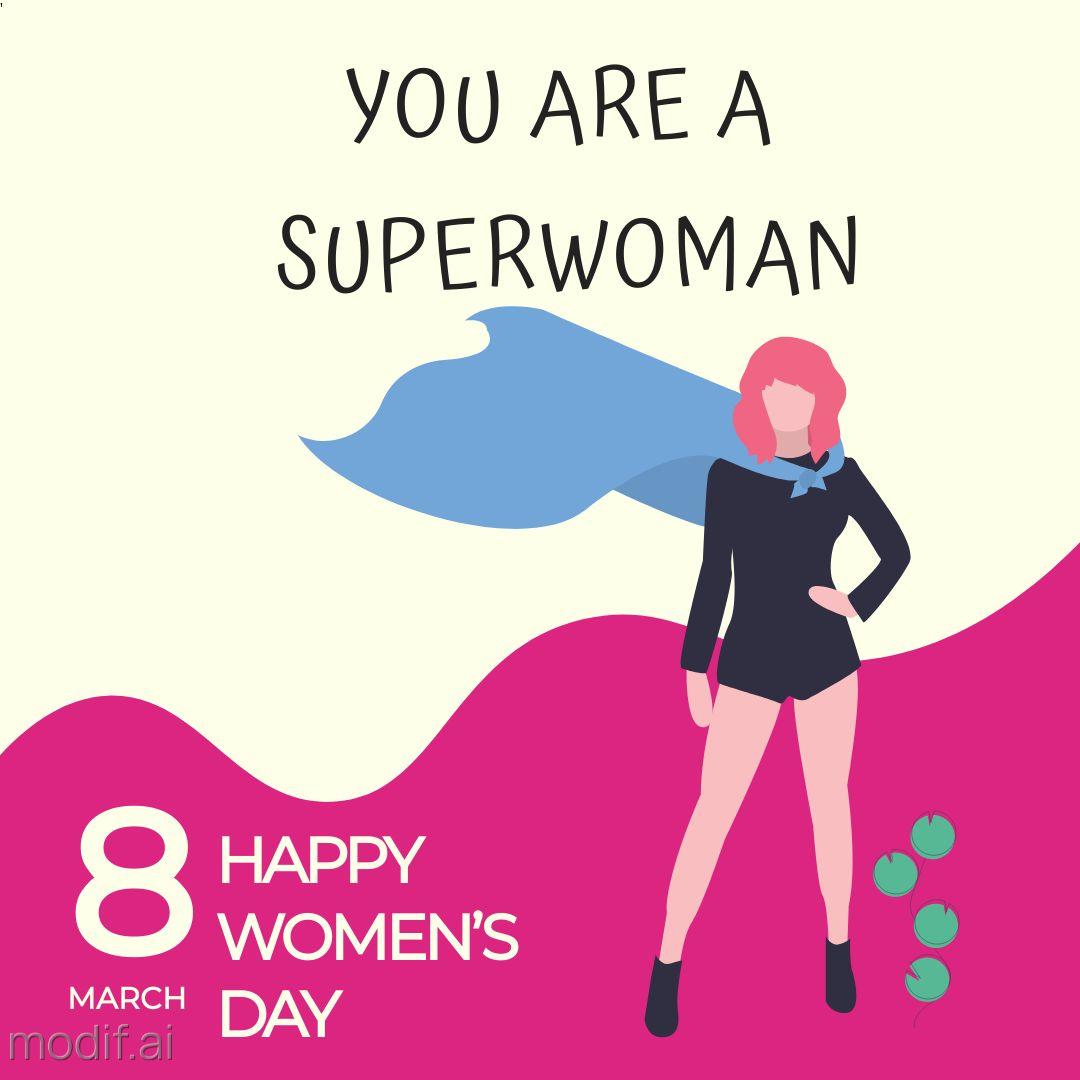 Superwomen Social Media Template