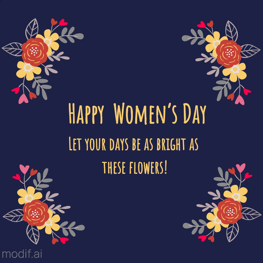 Template Happy Womens Day
