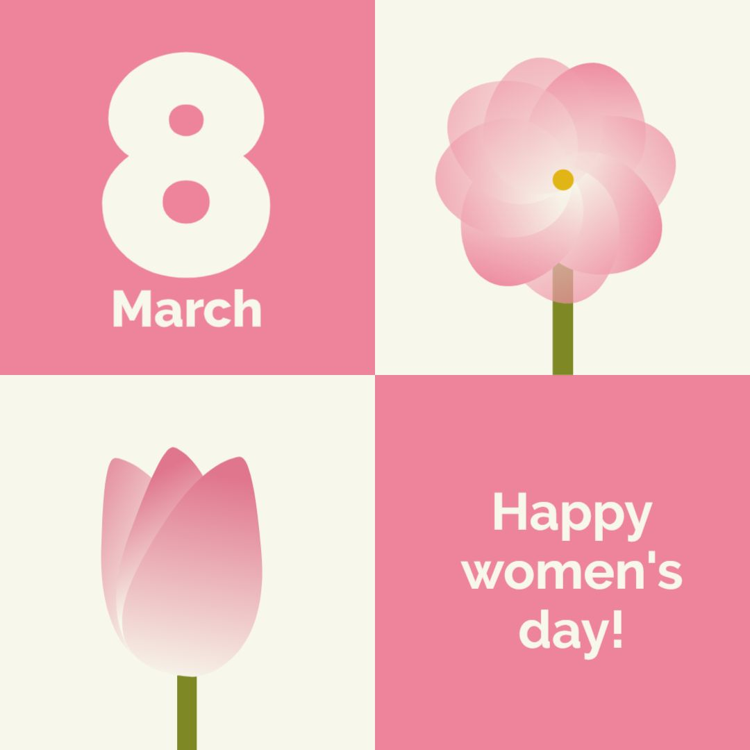 Happy Womens Day Design Template!