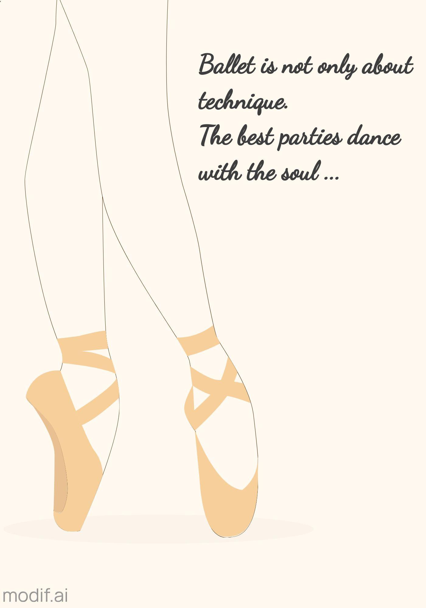 Ballet Dance Poster Template