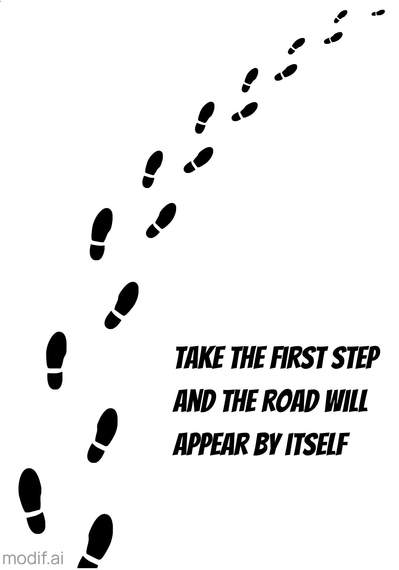 Poster Take the First Step