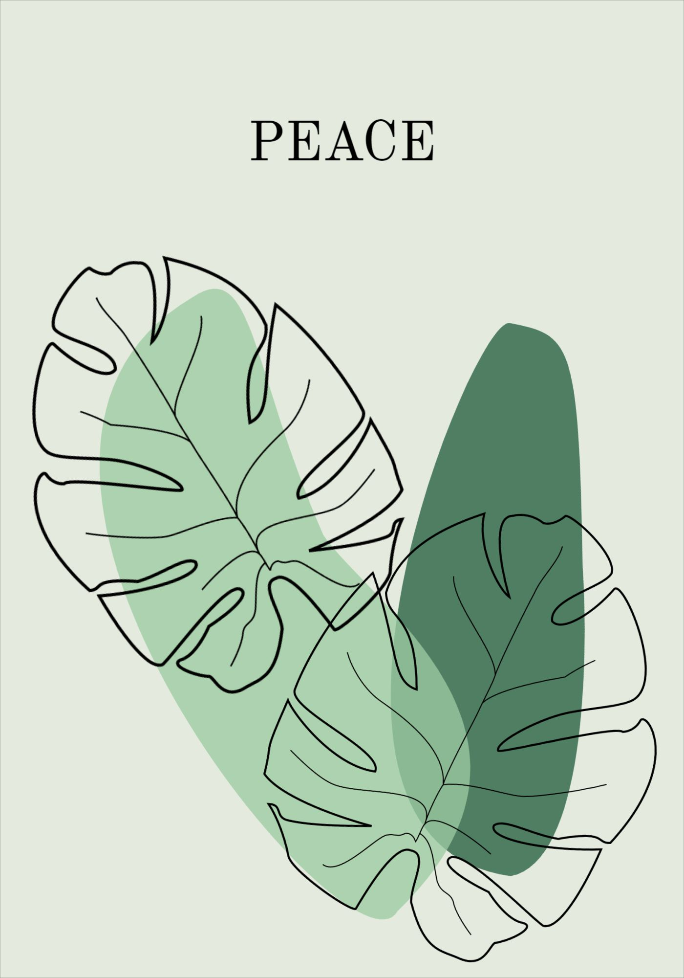 Poster Peace Design Template