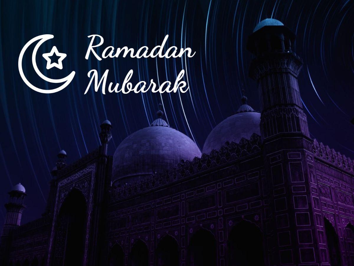 Ramadan Mubarak Template