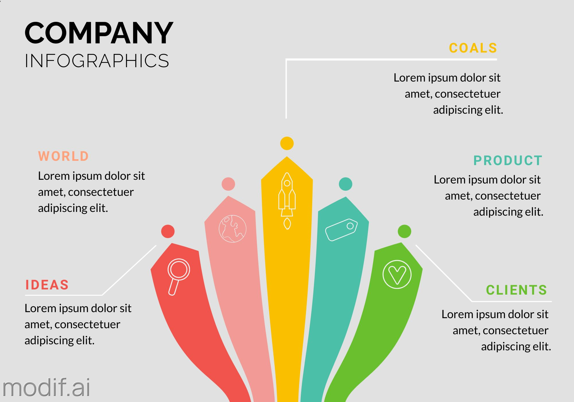 Company Infographics Banner Template