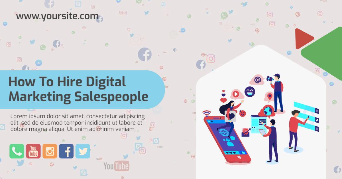 Animated Digital Marketing LinkedIn Template