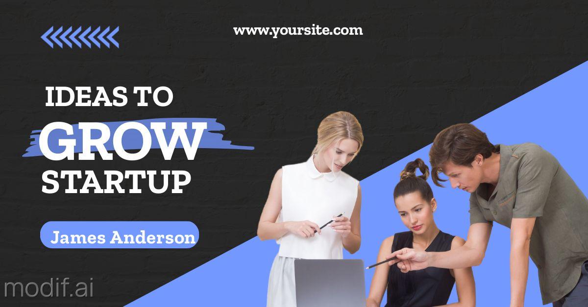 Grow Startup LinkedIn Template