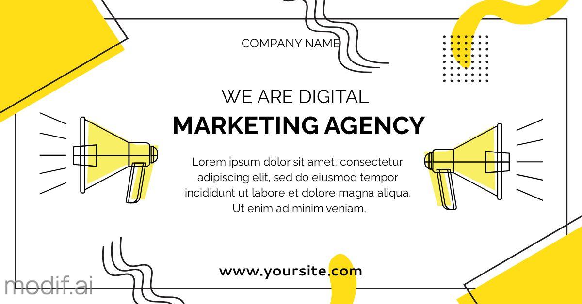 Digital Marketing LinkedIn Template