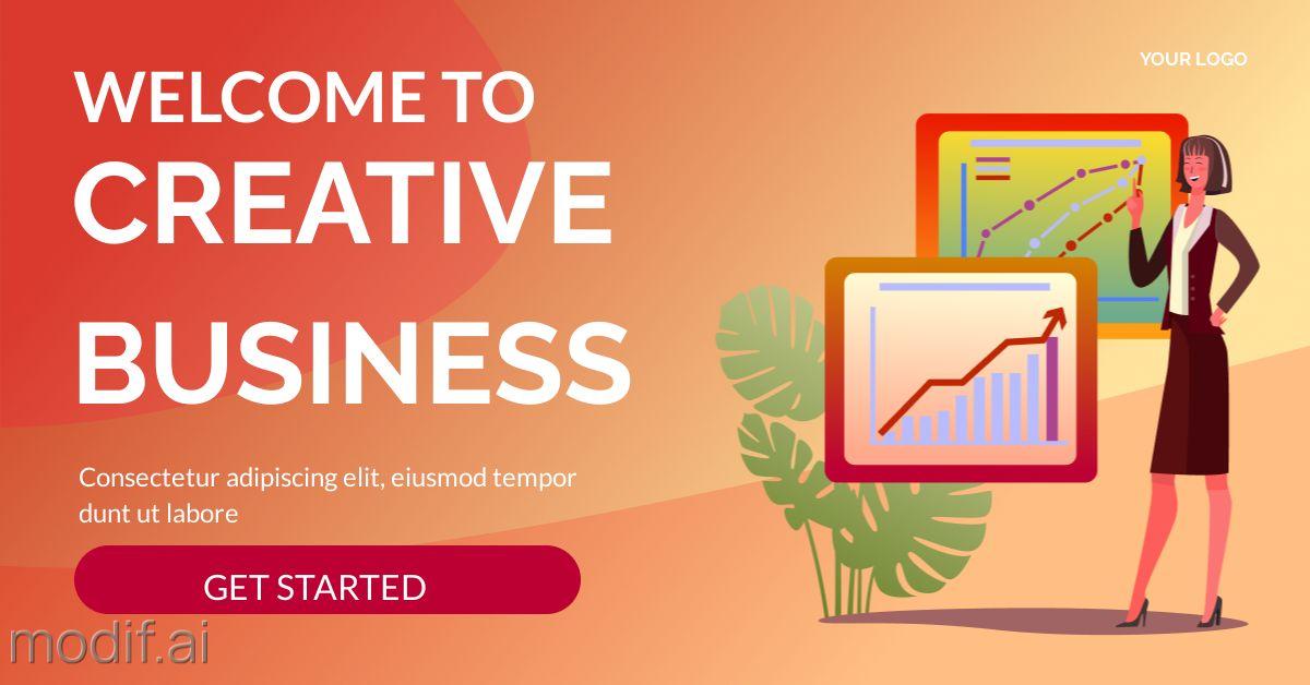 Business Article LinkedIn Template