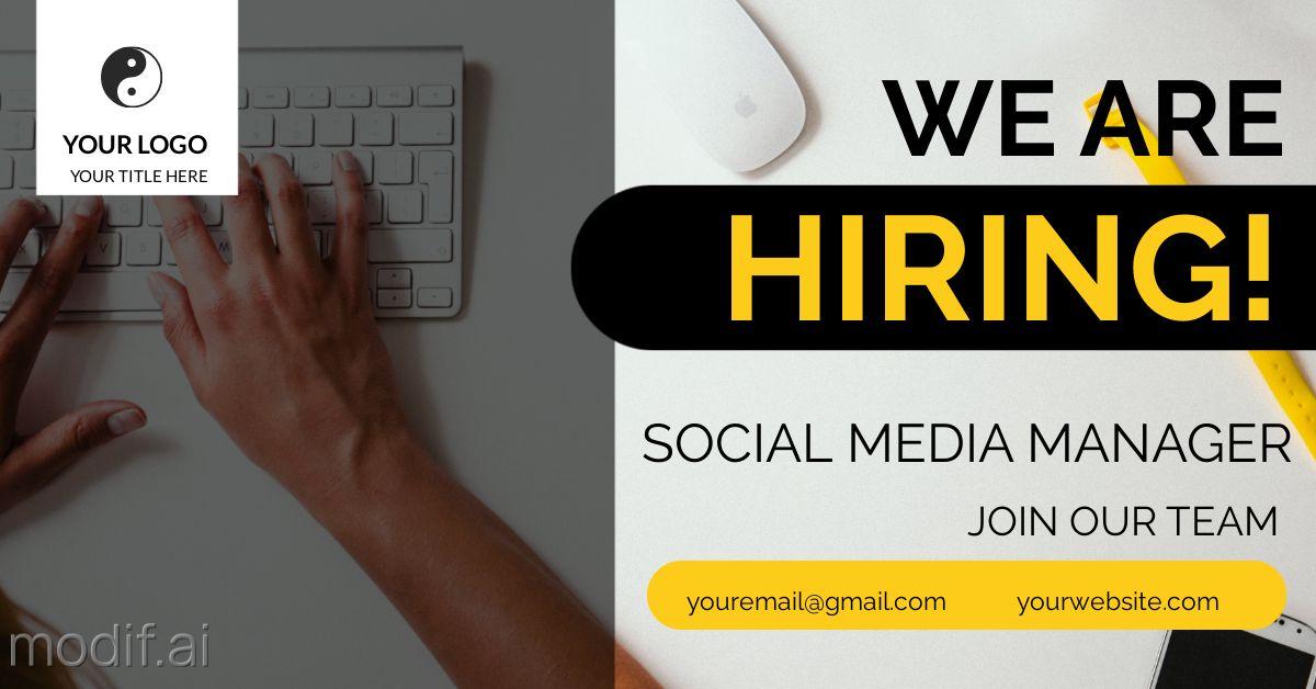Recruitment and Hiring LinkedIn Template